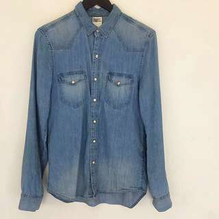 H & M Denim Shirt Size S