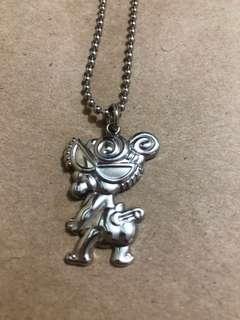 日本Hysteric Mini Classic Necklace 黑超B頸鏈 / 頸鍊 (包平郵)