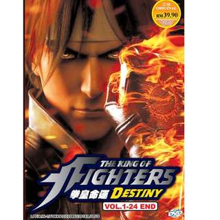 The King Of Fighters Destiny Vol.1-24 End 拳皇命运 Anime DVD