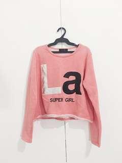LA Super Girl Pullover