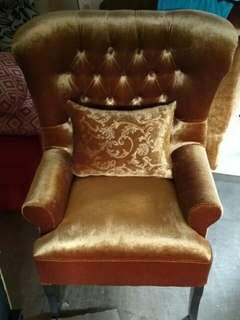 Sofa wincer coklat