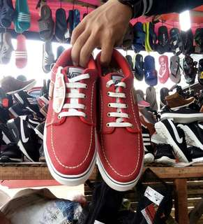 Vans off the wall for man