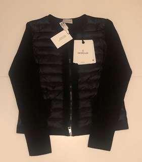 Moncler knit down jacket