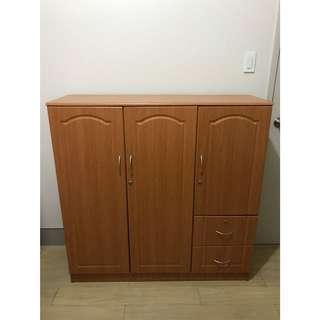 Laminated Wood Cabinet