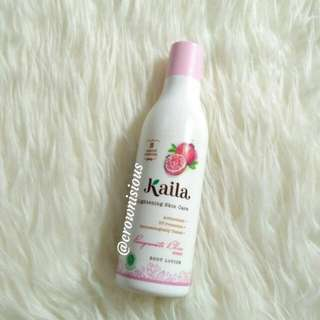 Kaila Lightening Skin Care Hand Body Lotion Pomegranate