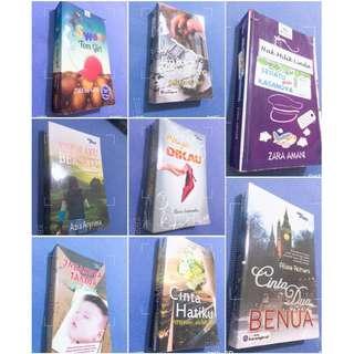 Preloved Novel Melayu ( Harga Bermula RM9 shj)