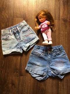 Hello Kitty shorts bundle (2t & 3t)