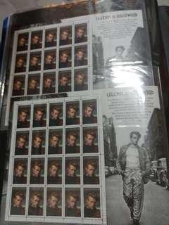 占士甸郵票 James Dean Stamp