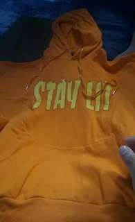 Forever 21 Stay lit hoodie