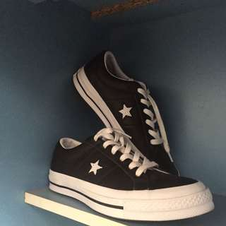 Converse Star OX Black and White
