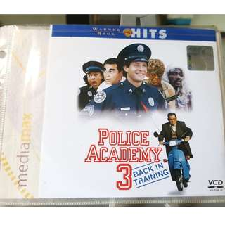 VCD - POLICE ACADEMY 3: BACK IN TRAINING (1986) comedy
