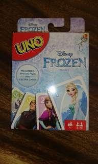 Brand New Disney Frozen UNO card