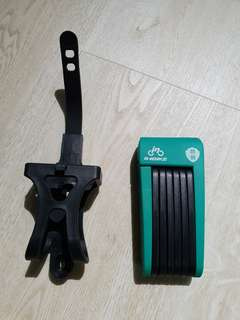 Bicycle / e-scooter folding lock
