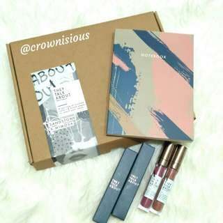 They Talk About Matte Lipquid Lipstick Package Notebook