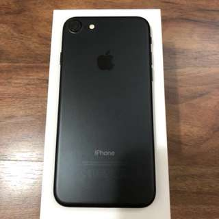 iphone 7 128G black, used, mint condition