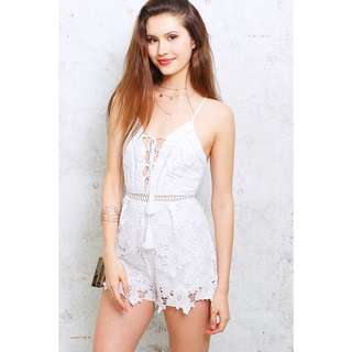 Kinstore Elsa Lace-up playsuit