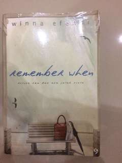 REMEMBER WHEN — WINNA EFENDI