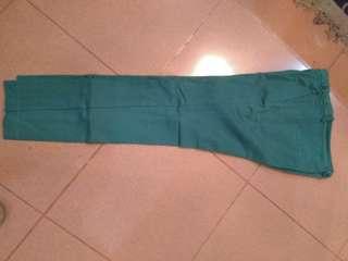 Celana Zara hijau