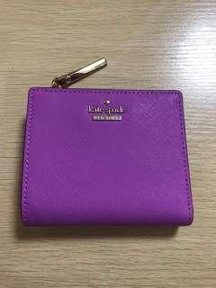 Kate Spade Short Wallet 短銀包 purple 紫色