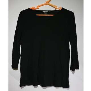 Black Casual Long Sleeve Blouse #5