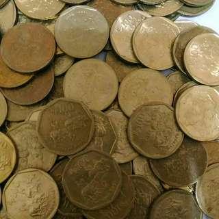 Uang Logam/Uang Koin 100 Rupiah Karapan Sapi