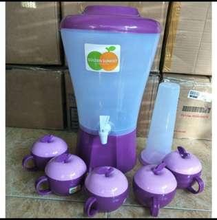Dispenser set gelas apel