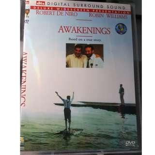 DVD - AWAKENINGS (1990) bio drama robert deniro robin williams