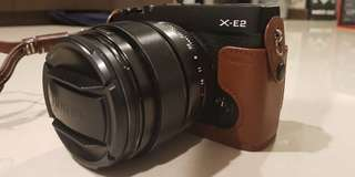 Fujifilm xe 2 with 23mm lens f 1.4 nego