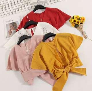 Ribbon Kimono Top