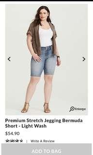Torrid - Jegging Bermuda Short - Size 20