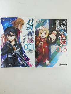 刀剑神域进击篇Sword Art Online Chinese novel