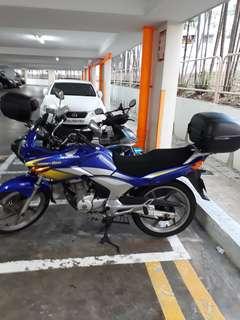 Honda CBF150 Cobalt Blue