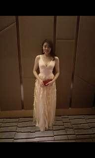 Elegant dress/ Evening dress/ Dinner dress/ wedding dress