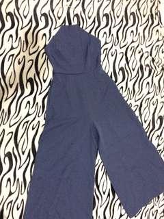 Formal Jumpsuit - wide pants