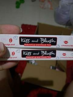 Kiss & blush liptint