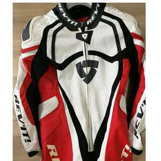 REV'IT! Tarmac Leather Racing Suit