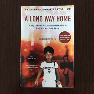 🔥Moving Sale until May 30🔥A Long Way Home - Saroo Brierley