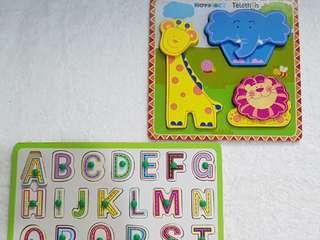 Alphabet/Animal Puzzle