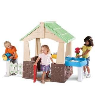 Little Tikes Deluxe Home & Garden Playhouse 630170
