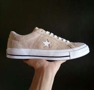 Converse one star ox original size 41.5 dan 43