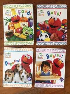 4 Elmo children's books