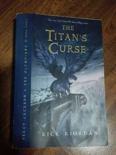The Titan's Cruse - Rick Riordan