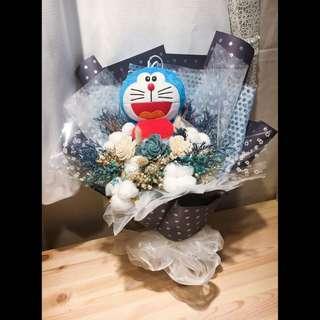 🚚 多拉ㄟ夢藍色花束
