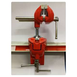 70x65mm Multi-Angle Table Vise