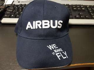 Official Airbus Baseball Cap (We Make It Fly)