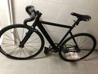 Aventon frame with rinpoch wheels onlyy
