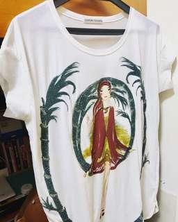 TSUMORI CHISATO 日本制立體釘珠T-shirt