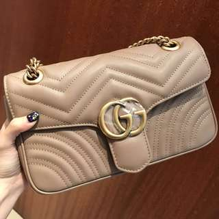 Gucci Marmont nude pink