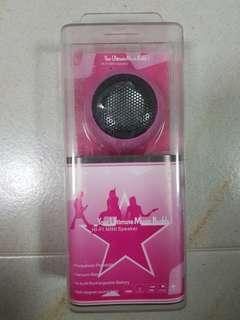 Rechargeable HI-FI MINI Speaker -PINK
