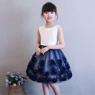 (Pre-order) Kids Princess Dress #545